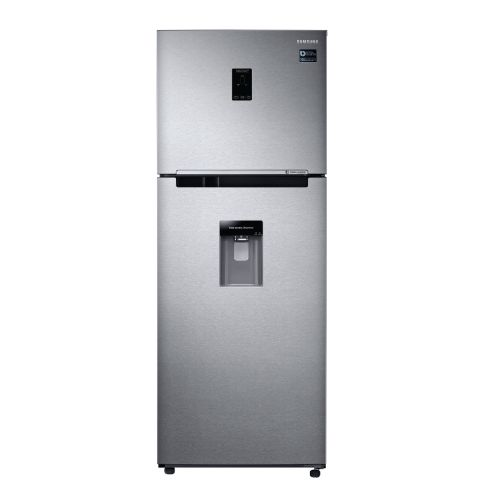 Heladera freezer superior No Frost inoxidable 382 litros