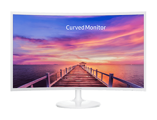 Monitor LED de 32'' Curvo con Active Crystal Color