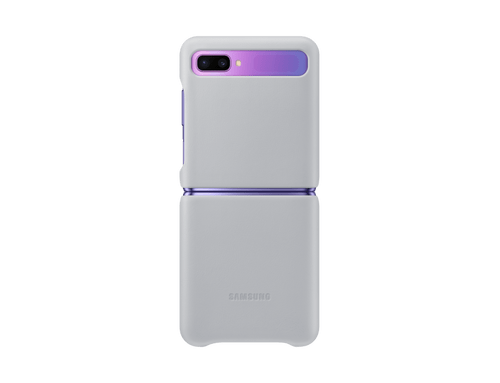 Leather Cover para Galaxy Z Flip