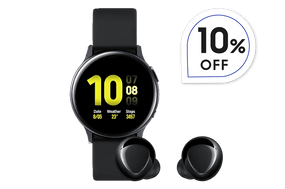 Combo Sports 1 - Galaxy Watch Active2 40 MM BT Aluminum + Galaxy Buds+