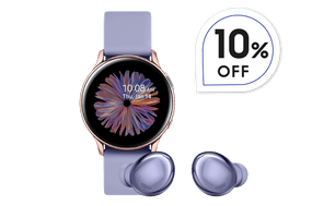 Combo Sports 4 - Galaxy Buds Pro + Galaxy Watch Active 2 40mm BT